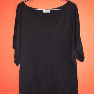 Michael Stars One Size Fits Most Black Top